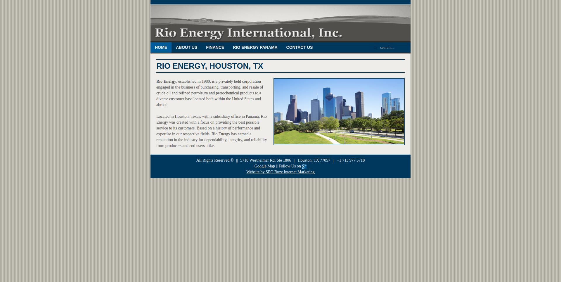 Rio Energy international company profile - Office locations, jobs ...