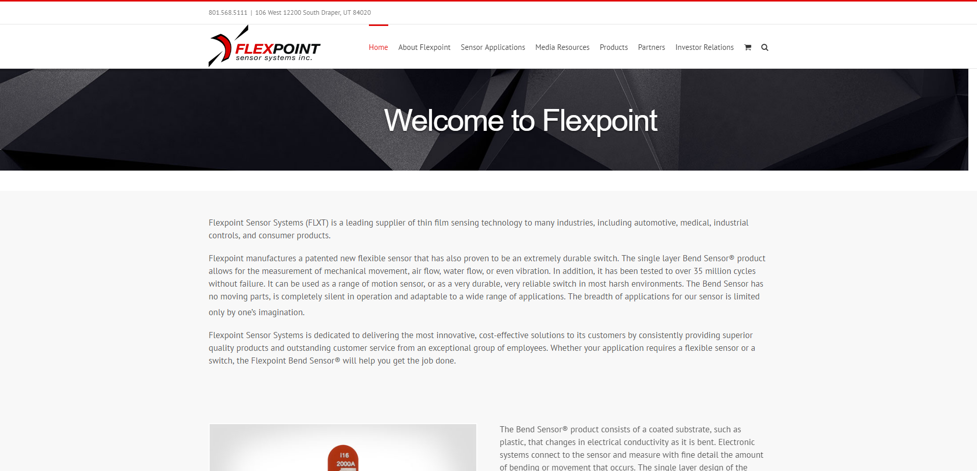 Flexpoint Sensor Systems company profile - Office locations