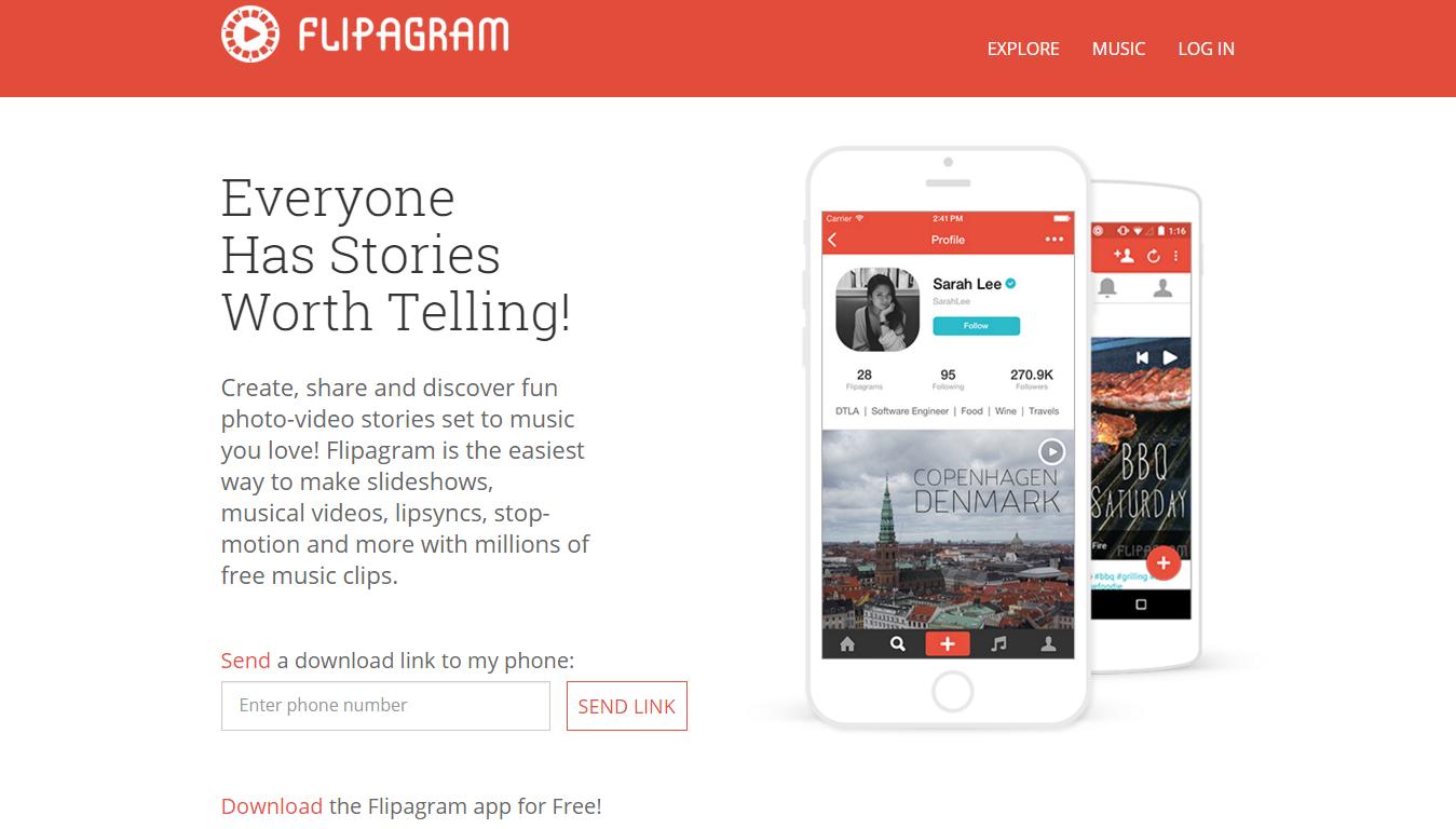 flipagram company profile office locations jobs key people