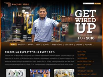 Encore Wire Corporation company profile - Office locations, jobs ...