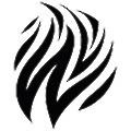White & Black logo