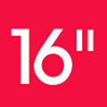 SixteenInches logo