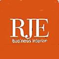 RJE Business Interiors logo