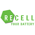 Recell Your Battery logo