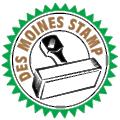 Des Moines Stamp logo
