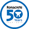 Ronacrete logo